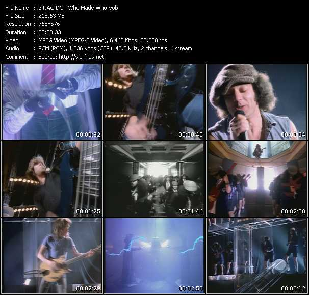 AC/DC - Who Made Who | Releases, Reviews, Credits | Discogs