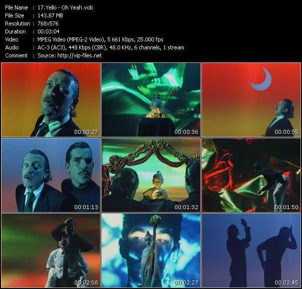 Yello - коллекция видео клипов