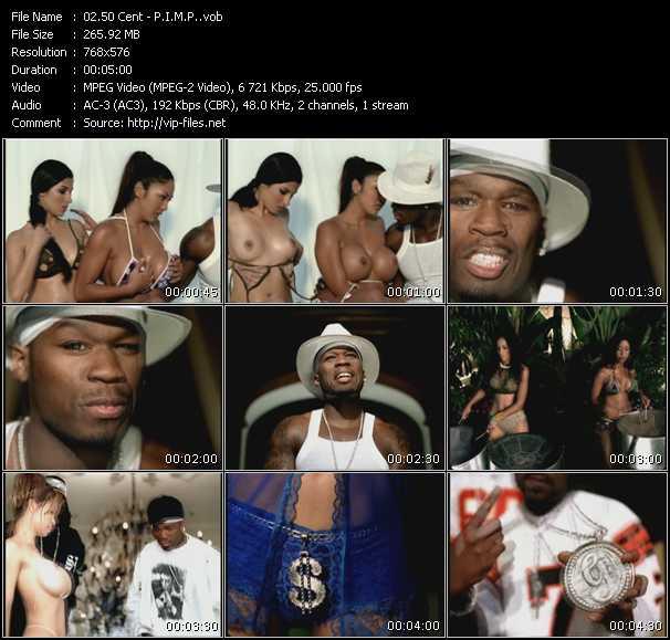 50 cent music videos: