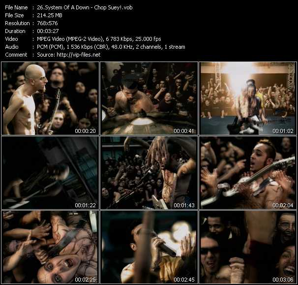 System Of A Down Video Clip HQ(VOB)